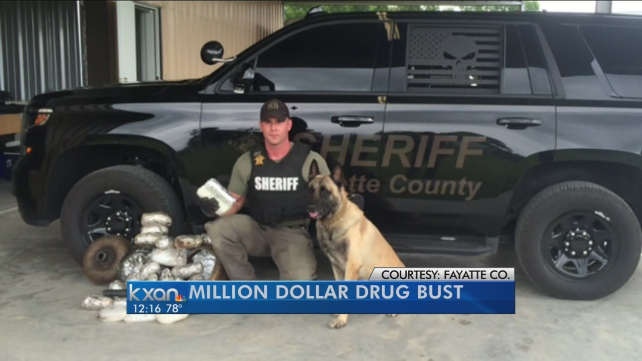 K9 'Lobos' sniffs out $1 3M in meth and cocaine