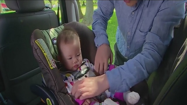 Are car seats safe for infants to sleep in