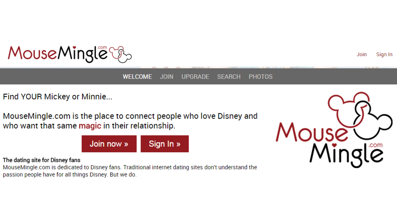 Dating websites for disney fans