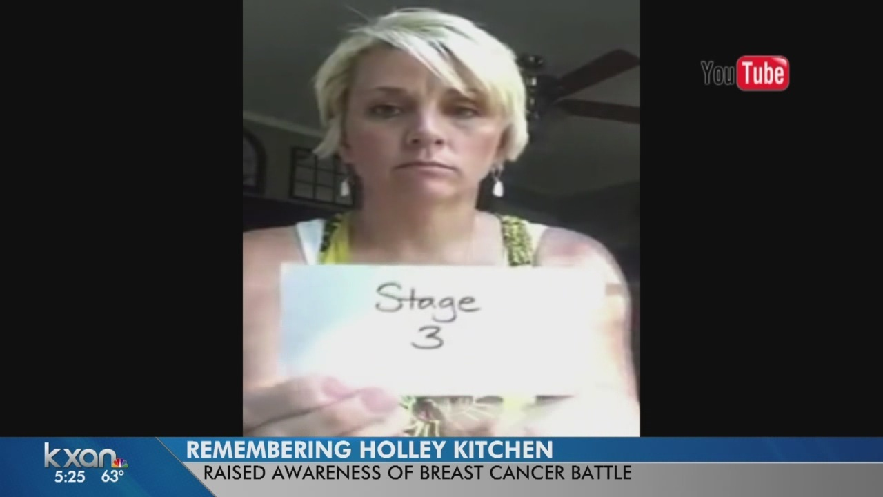 cedar park woman who shared cancer battle with millions remembered - Holley Kitchen