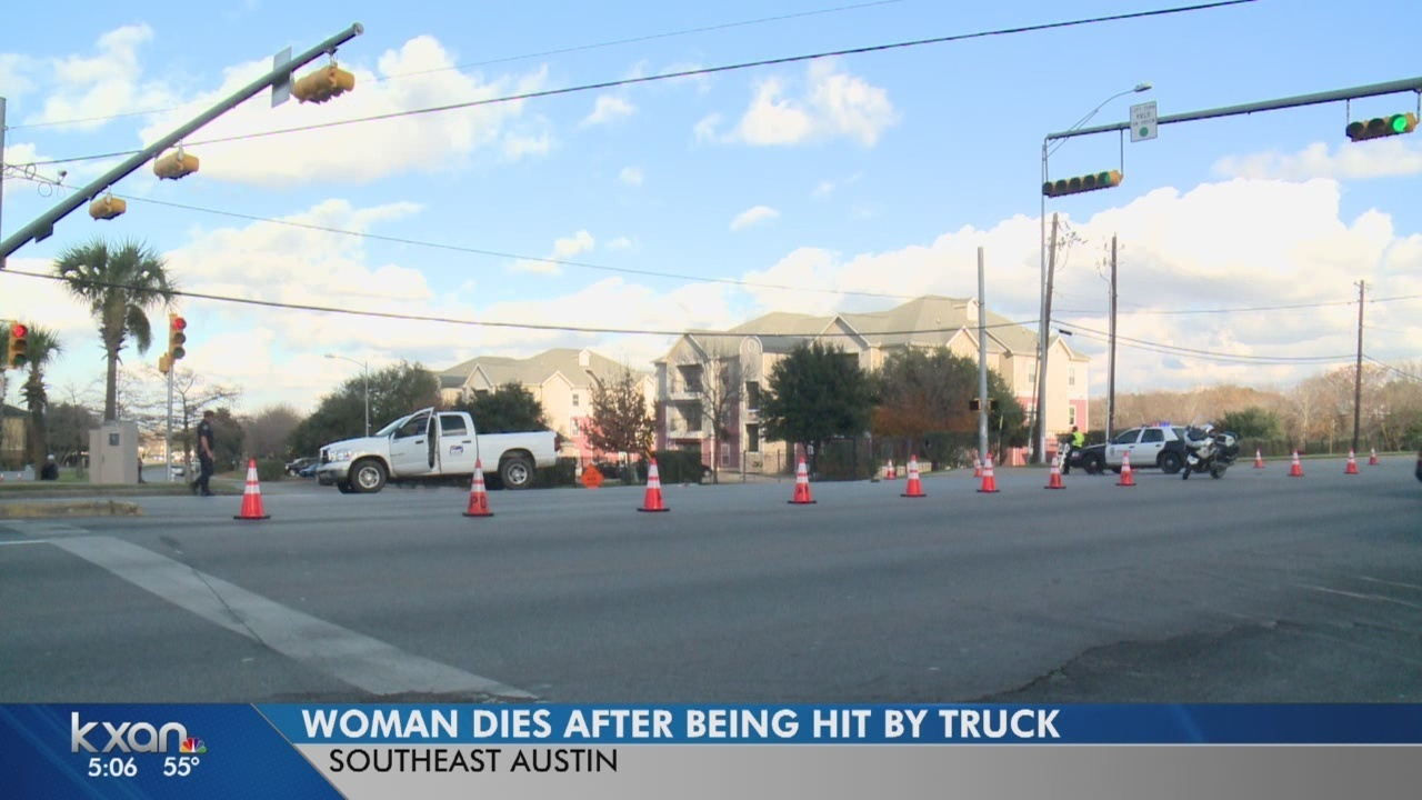 Woman hit, killed by truck on E  Riverside Drive was possibly