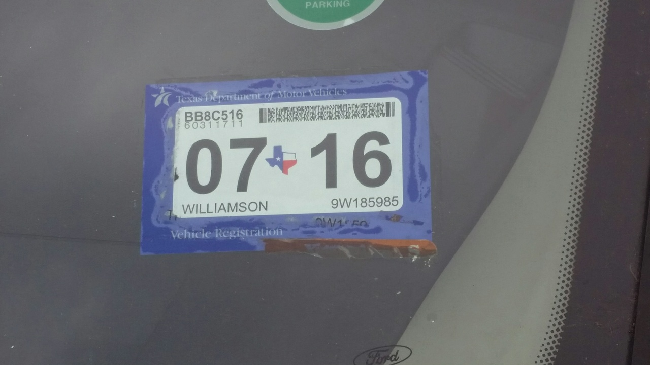 In March Vehicle Registration And Inspection Will Have One