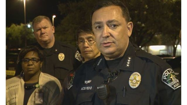 Chief Acevedo addressing the media after an officer-involved shooting_275674