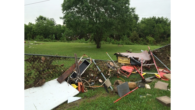 Thoroughbred Farms home damaged by severe weather_291427