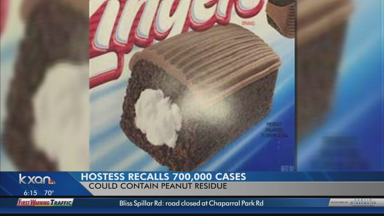 Hostess recalling 710,000 cakes, donuts