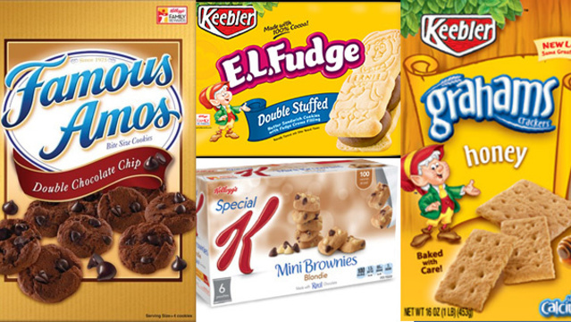 Kellogg Company recalls more than 20 products, including snacks and cookies