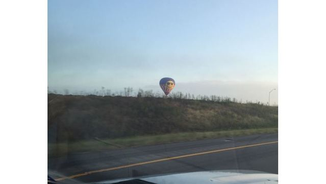 Possibly the last photo taken of the hot air balloon that crashed on July 30, 2016_319044