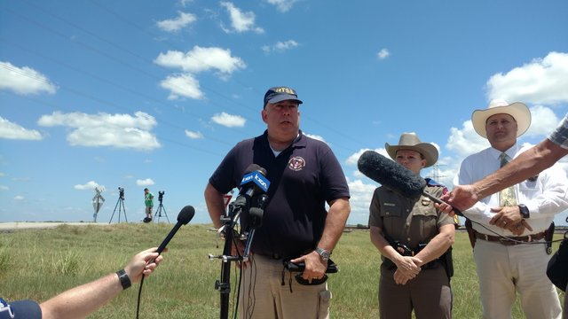 The National Transportation Safety Board (NTSB) addresses a deadly hot air balloon crash west of Lockhart, July 30, 2016_318945