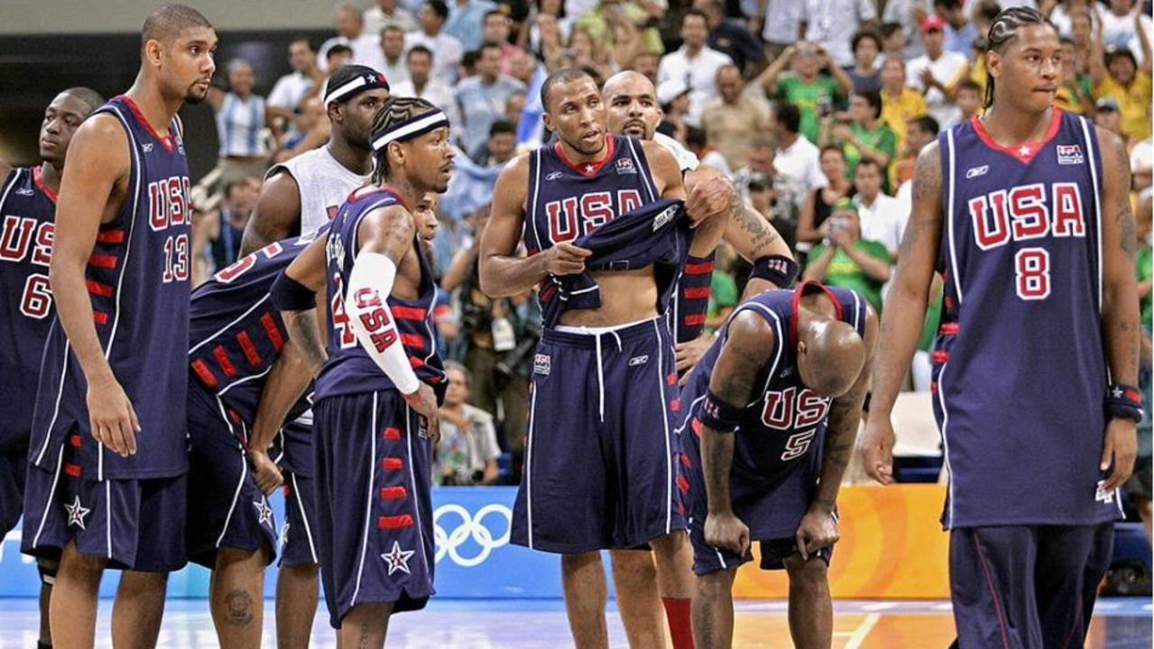 d7b60fa85a6 Red, White and Bronze: The death and rebirth of USA Basketball