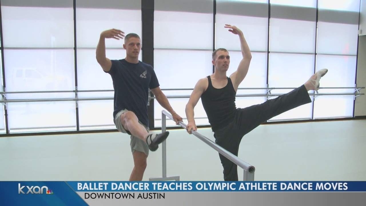 e040b0c0fd9b Olympic medalist learns new moves at Ballet Austin