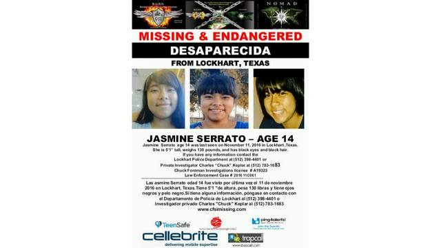 Lockhart police searching for missing teenage girl