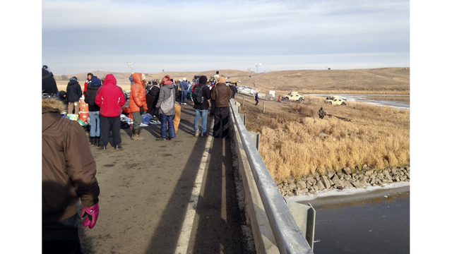 Thanksgiving meal set for pipeline protesters in North Dakota