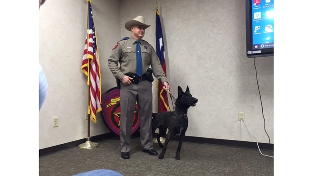 Texas Department of Public Safety canines graduate after 8 weeks of training (KXAN Photo_ Daniel Guerrero)_385476