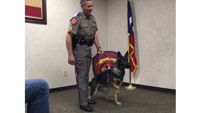 Texas Department of Public Safety canines graduate after 8 weeks of training (KXAN Photo_ Daniel Guerrero)_385477