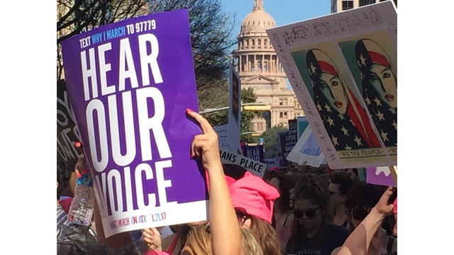 PHOTOS: Women's March on Austin becomes largest march in Texas history
