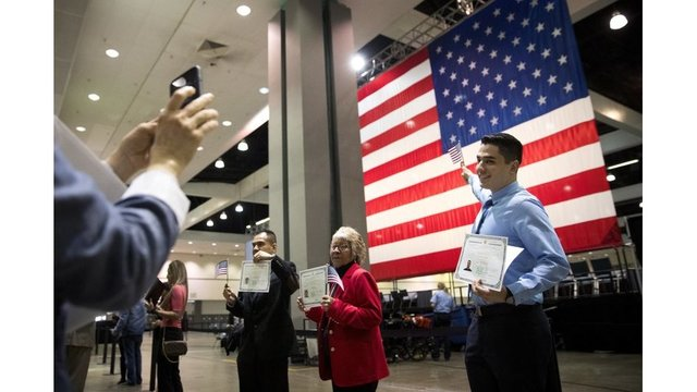 Immigrants rushing to apply for U.S. citizenship after travel ban