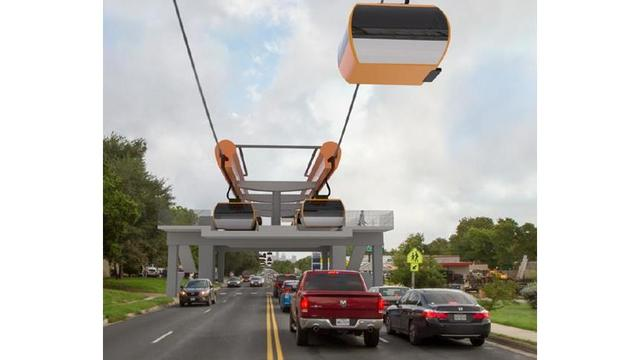 Proposal for urban gondola system in Austin will not move forward