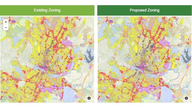 Austin Zoning Map Looking to build? New zoning map changes the rules Austin Zoning Map