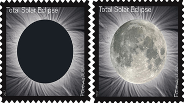 Usps Releasing 1st Color Changing Stamp Commemorating Solar Eclipse