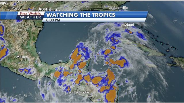 Tropical development in the Caribbean likely this week