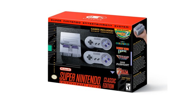 Super Nintendo Classic announced, includes 21 of the best games