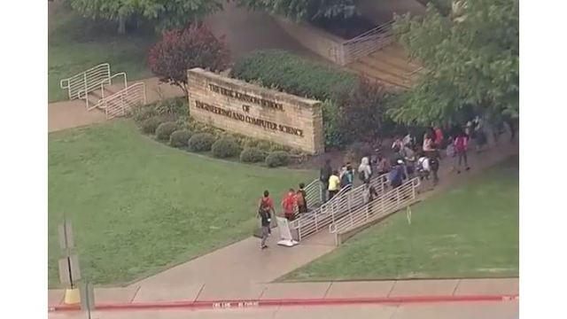 Students return to UT Dallas after being evacuated for 'hoax' bomb threat
