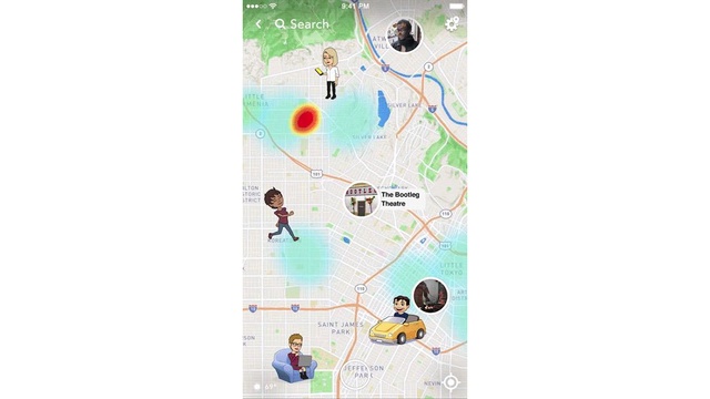 Snapchat's new 'Snap Map' has Texas law enforcement worried