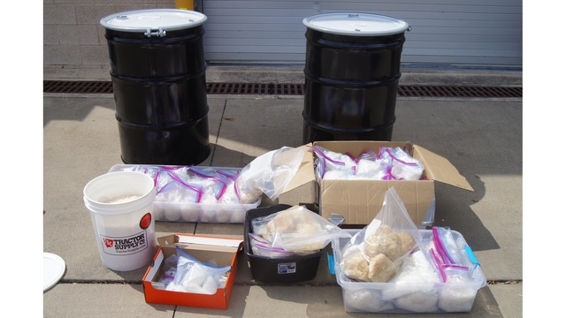 $23M worth of meth found in Cedar Creek home
