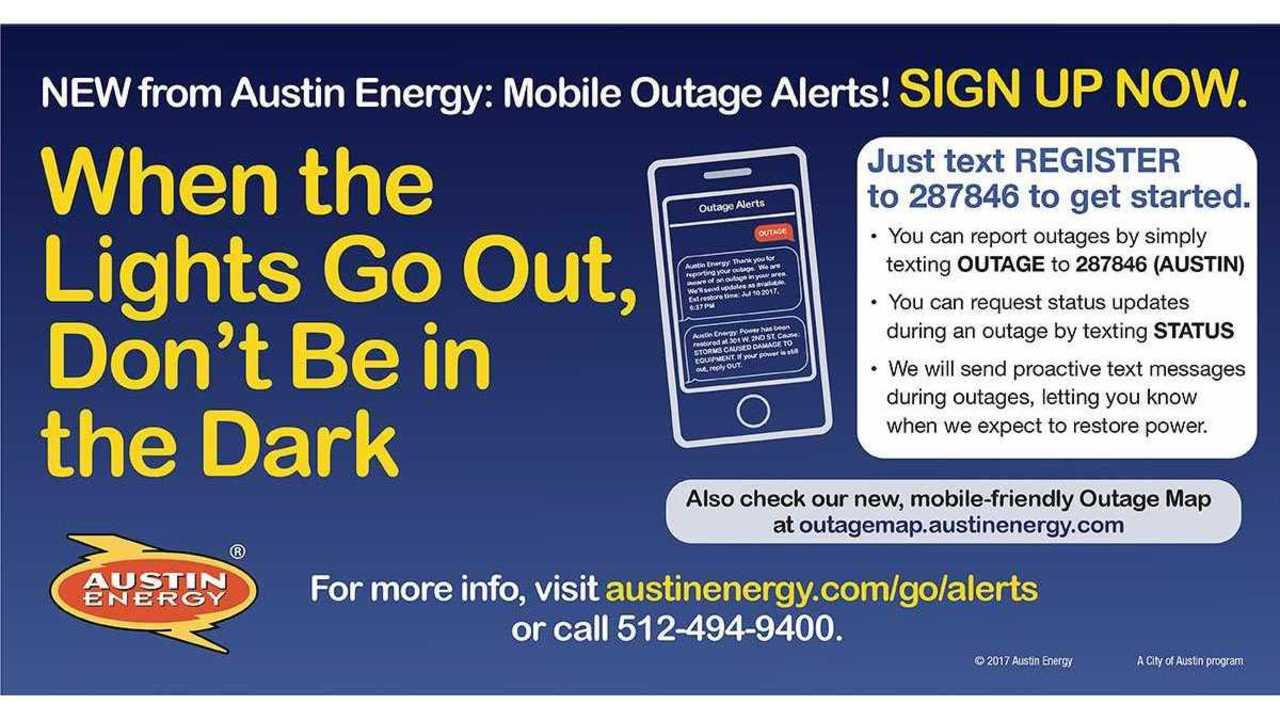 Austin Energy Launches New Mobile Alert Tools For Power Outages
