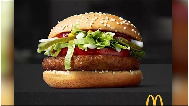 McDonald's to introduce the McVegan burger