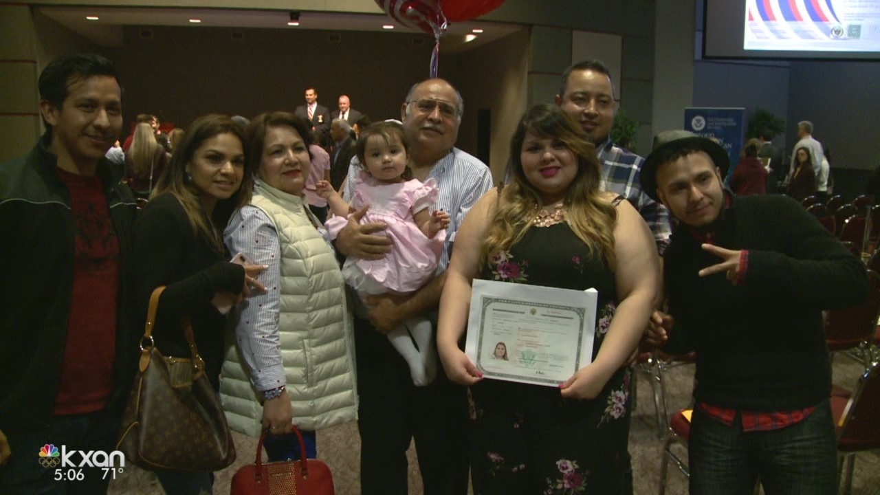 Man describes becoming an American citizen as the 'best moment' of