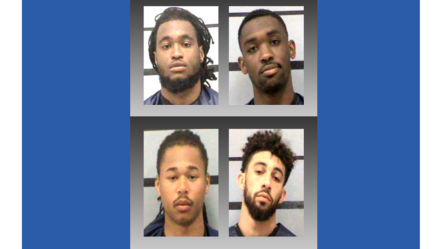 Four Texas Tech football players arrested on criminal charges
