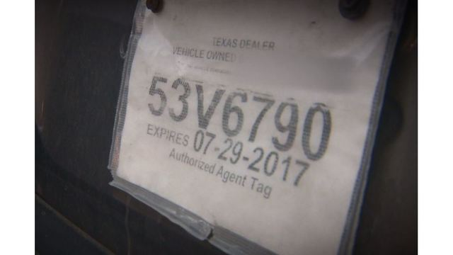sc 1 st  KXAN.com & Paper license plates get security redesign amid fraud increase