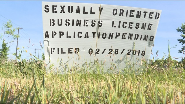 Sexually oriented business license texas