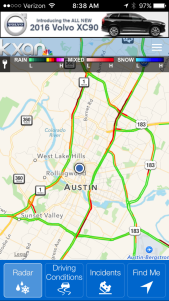 Kxan Traffic Map.Download The Kxan Weather App