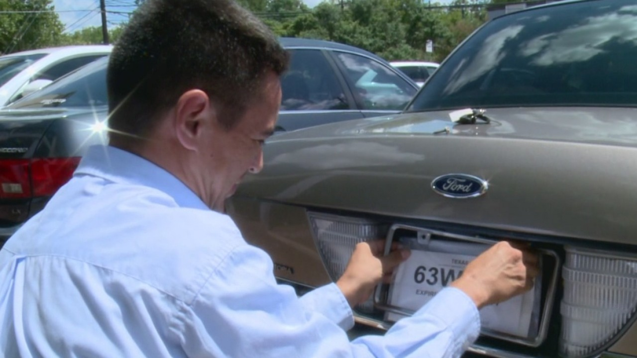Txdmv Halts Parts Of Online Paper License Plate System Amid Fraud