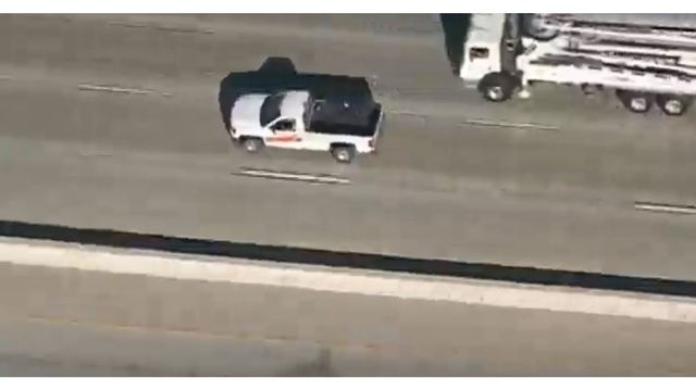 Driver leads police on a chase in a Uhaul pickup truck