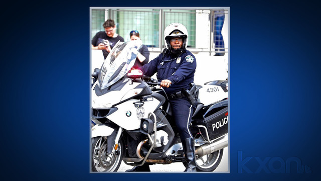 Family of fallen APD officer suing funeral home, motorcycle escort