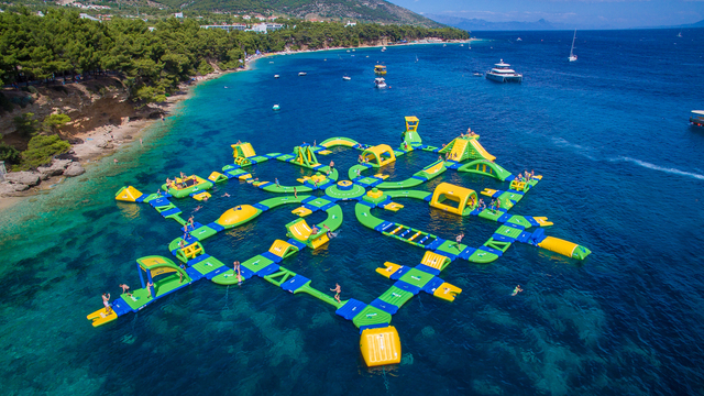 floating adventure park opening on lake travis this month