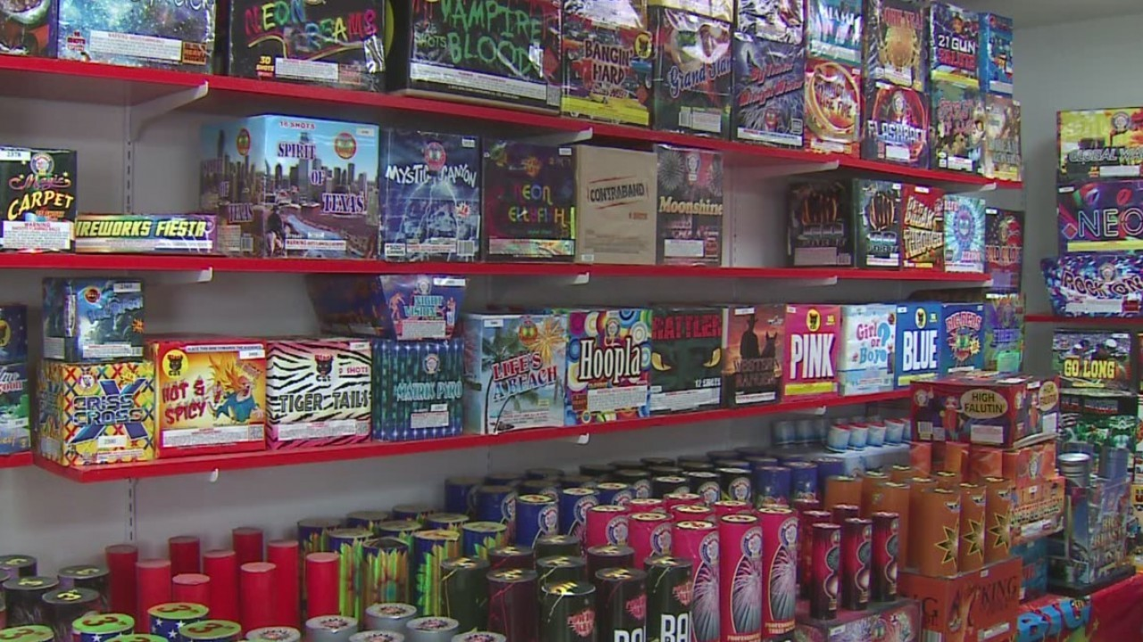Fireworks sales start Sunday with no area weather restrictions