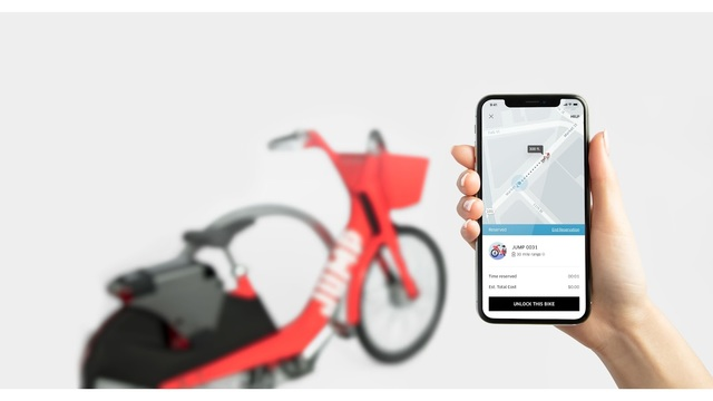 Uber launches dockless bicycles in Austin