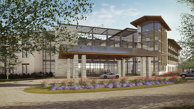 Hilton - Curio - Seven Hills Resort and Conference Center planned in Fredericksburg, Texas 1