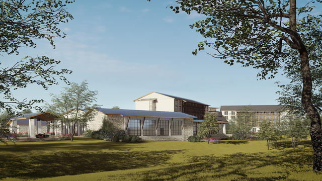 Hilton Curio - Seven Hills Resort and Conference Center planned in Fredericksburg, Texas 2
