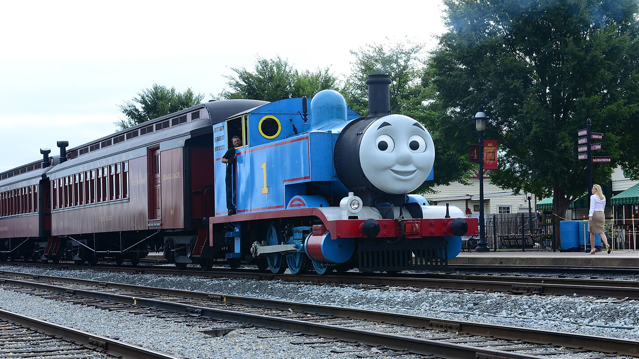 thomas the tank engine coming through hill country next weekend
