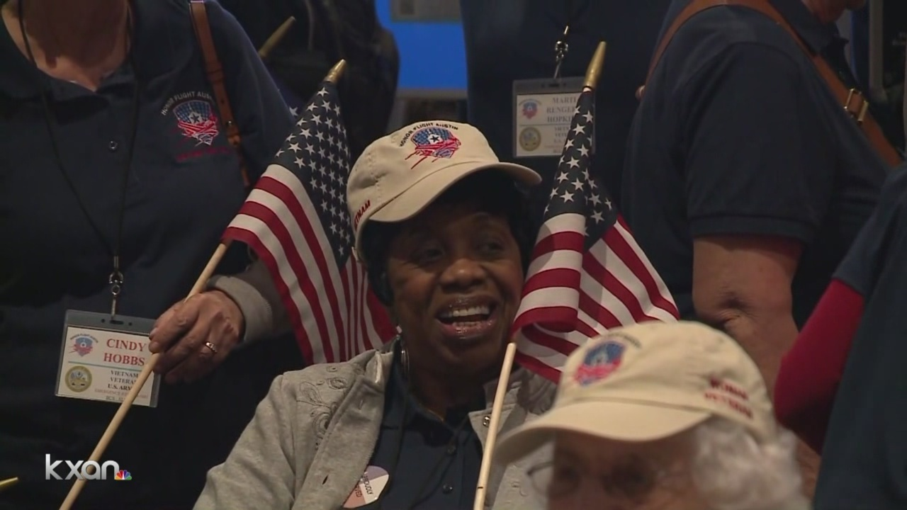 Second all-women Honor Flight returns from nation's capital