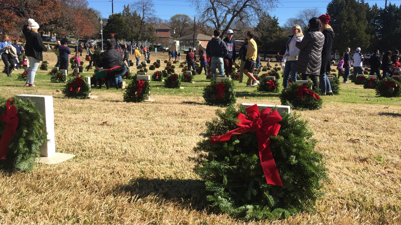 Cemetery Wreath Laying