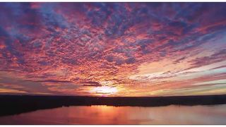 a62f555e3673e Sunset clouds paint sky with spectacular colors