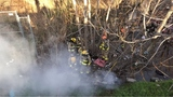AFD extinguishes fire in tunnel where homeless had been living