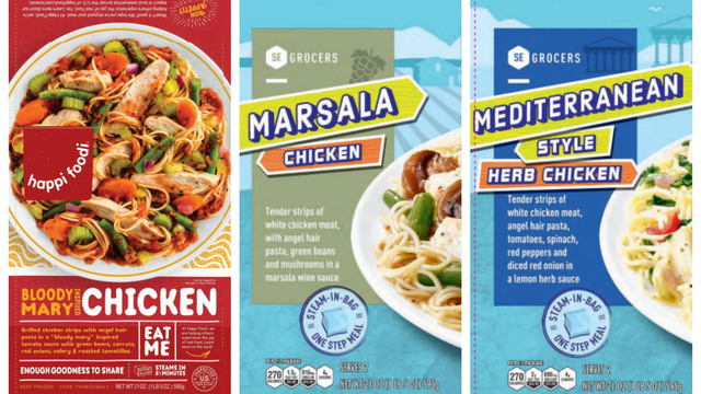 Texas-based company recalls almost 100K lbs of chicken products