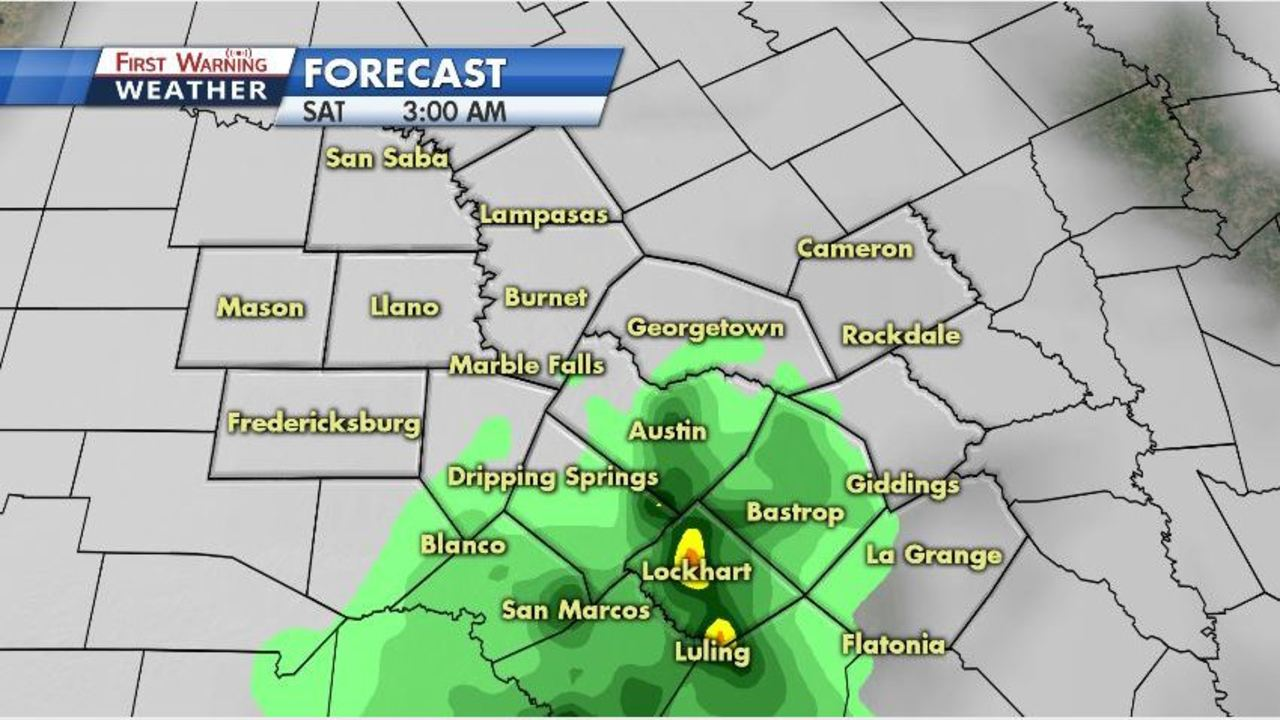 Showers, thunderstorms possible, but most of weekend will be dry, nice